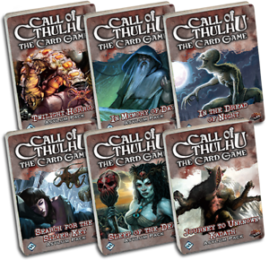 Call-of-Cthulhu-The-Card-Game-LCG-Dreamlands-Cycle-Asylum-Packs-Bundle