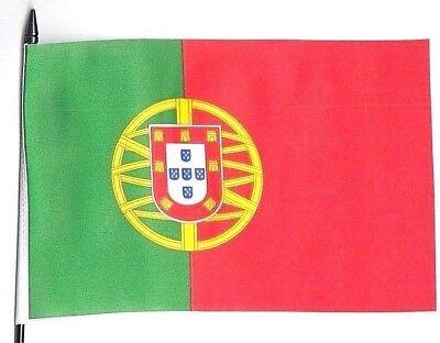 Portugal Madeira Small Hand Waving Flag