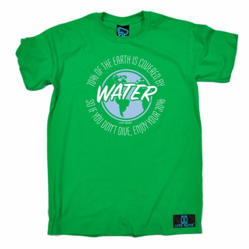 Diving 70 Percent of The Earth Water tank funny Birthday For Him T SHIRT T-SHIRT