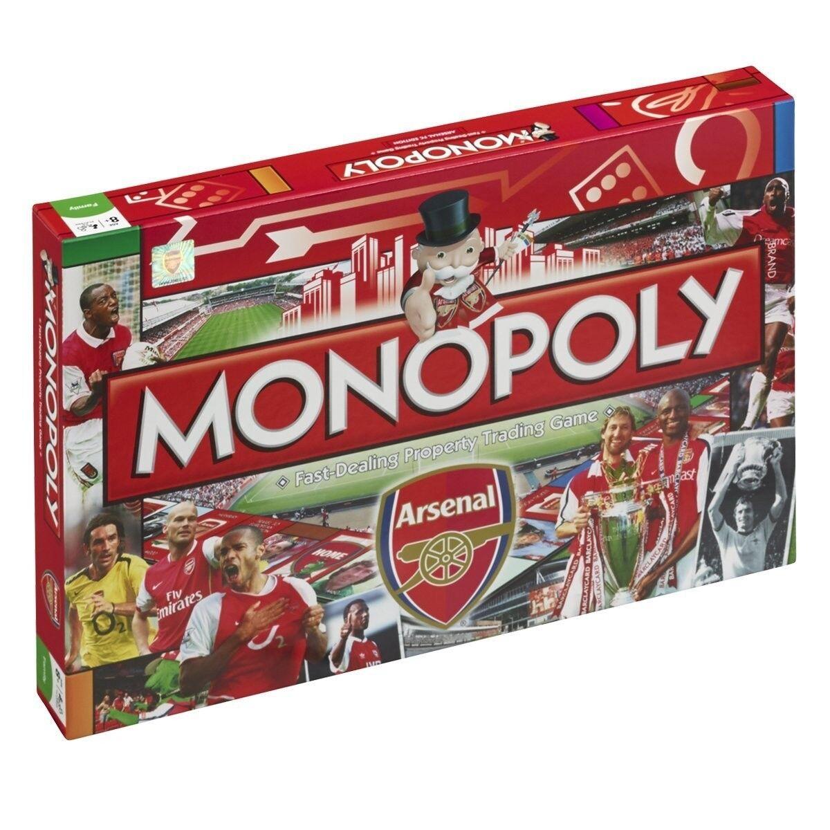 Monopoly Arsenal Football Football Club Game Game Game Board Game Board Game Englisch 946c6d