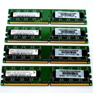 2GB-4x512MB-DDR2-RAM-PC2-5300-Speicherriegel-667MHz-PC2-5300-mit-Rechnung