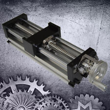 100mm Sliding Table Manual Sfu1605 Ball Screw Linear Stage Actuator Cnc Slide