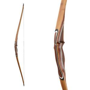 Radient Langbogen Longbow Arc Tirer Bearpaw Quick Stick 2016 - 60 In - 25-60 Livres Aide Au-afficher Le Titre D'origine