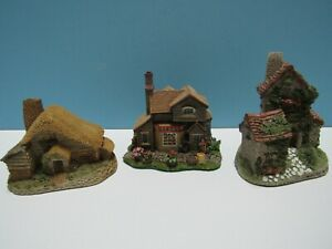 Lote-de-3-casas-rurales-voces-David-Winter-panaderos-amp-Ivy-Mini-Casas-rurales-Gr-Bretana
