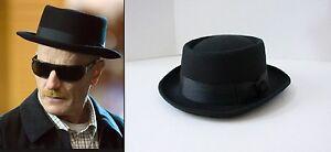 73c9fd8febf Image is loading Halloween-Party-Heisenberg-Style-Black-Hat-Walter-White-
