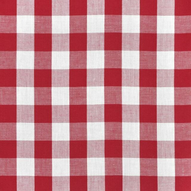 CHECKER PATTERN TABLE SKIRTING SKIRTS 21/' RED AND WHITE CHECKERED TABLE SKIRT