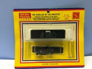N scale Micro-Trains Line UNDECORATED 40/' wood sheathed reefer car train