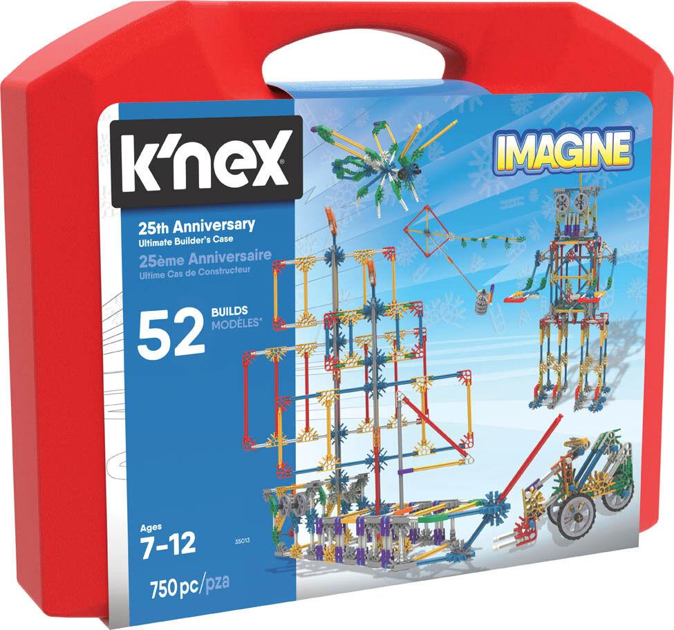 K`NEX 25th Anniversary Ultimate Builder`s Case - Build 52 Unique Models