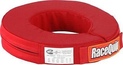 SIMPSON NECK BRACE HELMET PADDED SUPPORT COLLAR SFI NOMEX III RED #23022RD RACE