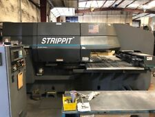 1996 33 Ton Strippit 1000h30 Cnc Turret Punch W Tooling