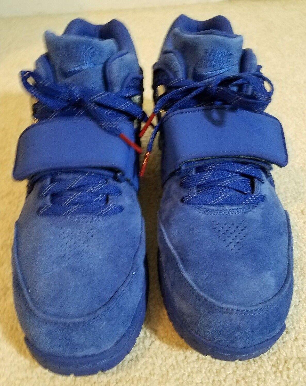 """Nike Air Tr V. Cruz Prm """"Rush Blue"""" - WR Victor Cruz Jr."""