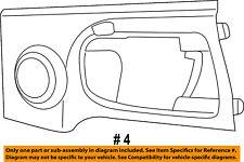 Genuine Chrysler 1DF95BDAAE Door Trim Panel Bezel