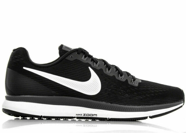 uk availability get new cheap Nike Air Zoom Pegasus 34 Men's Running Shoes (880555-001)  Black/White-Dark-Grey
