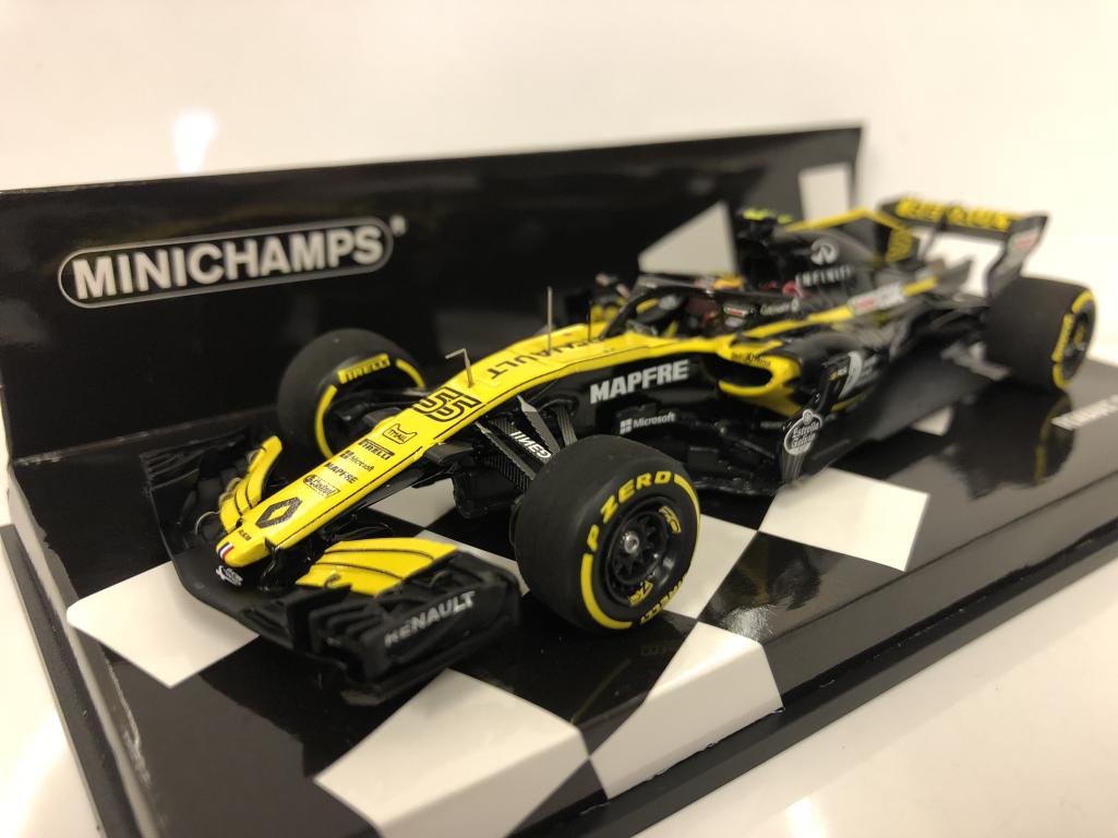 Minichamps 417180055 Renault R.S.18 c. Sainz 2018 Résine 1 43 Echelle