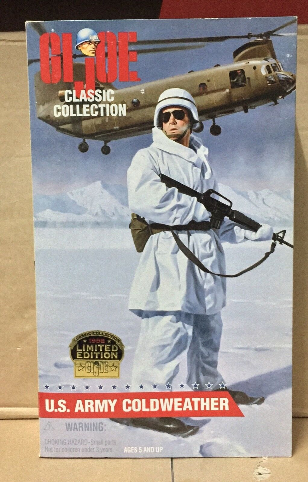 GI JOE  CLASSIC COLLECTION U.S. ARMY COLDWEATHER