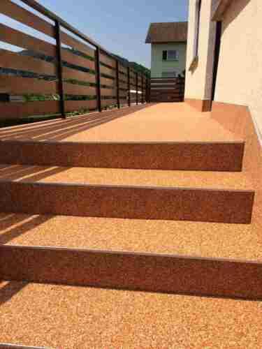 Steinteppich Bindemittel Balkon,Terrasse  Steinteppich  m200 AUSSEN