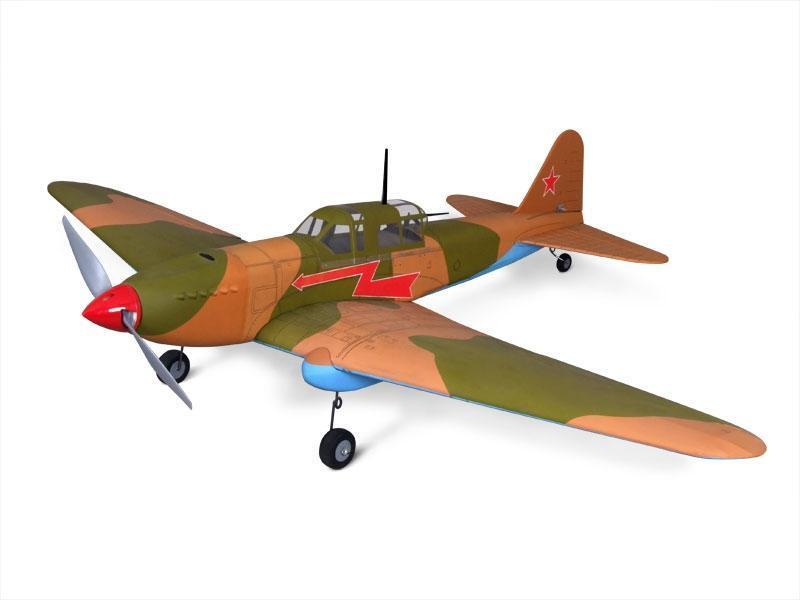 Red Square Models, IL-2  Sturmovik  EP, ARF, Balsa and Film, RC airplane