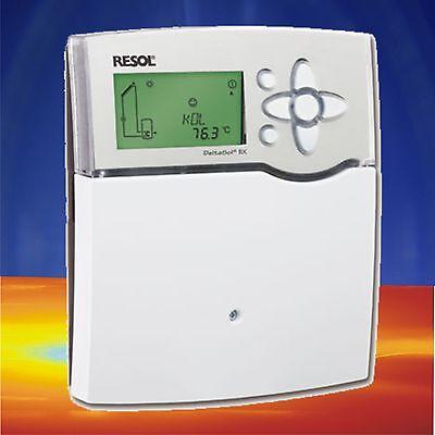 DeltaSol BX Solarregler Solarsteuerung Steuerung Solarthermie Resol Kollektor
