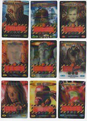 Doctor Who TV Ultra Rare Battles In Time Cards
