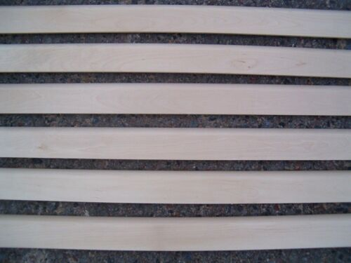 Socles Socle Barre Barre le Bouleau Massif 20x50 Mm A-Classe de profil avec rayon