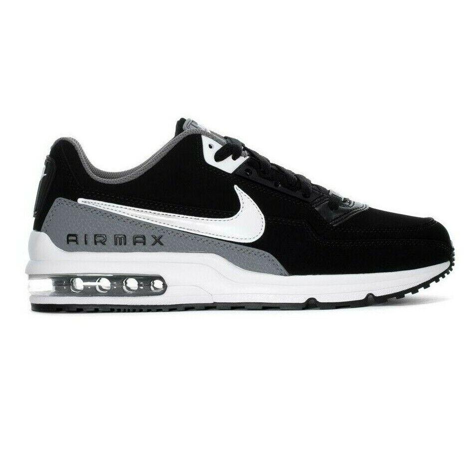 Nike Air Max LTD 3 Black White-Cool Grey BV1171 001 Mens Running shoes