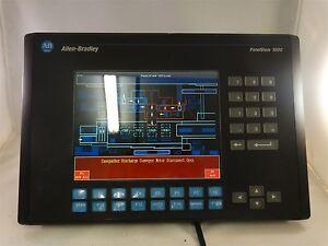 Allen-Bradley-PanelView-1000-2711-K10C15-Ser-D-Rev-B-FRN-4-20-100-240V-0-4-0-25A