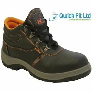 quality design 3e3d3 4fbe1 Details about NEW MENS SAFETY ULTRA LIGHTWEIGHT WORK ANKLE BOOTS STEEL TOE  CAP SHOES TRAINERS