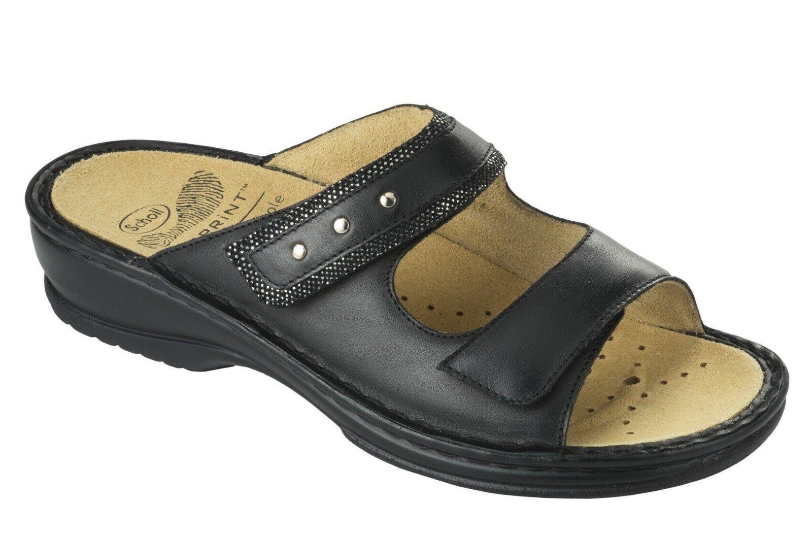 SCHOLL POLIGONIA BioPrint sandalias zuecos zuecos zuecos zapatillas pantuflas mujer cuña de  barato