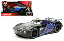 JADA DISNEY PIXAR CARS 3 MOVIE 1/24 JACKSON STORM DIECAST BLACK 98327