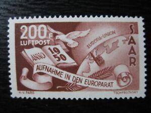 SAAR-SAARLAND-Mi-298-scarce-mint-stamp-CV-120-00