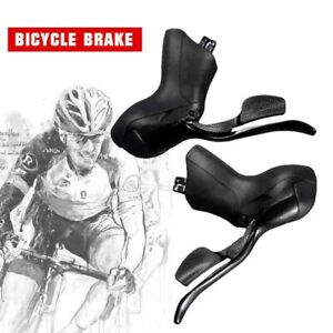 Road bike shift Shifter drop bar 2//3 × 7//8//9//10//11 Speeds Brake Levers combo set