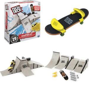 Tech Deck Starter Kit Finger Skateboard With Ramps Skate Park Customizable Set Ebay