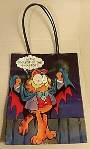 Vintage-Garfield-Hallmark-United-1978-Halloween-Gift-Bag