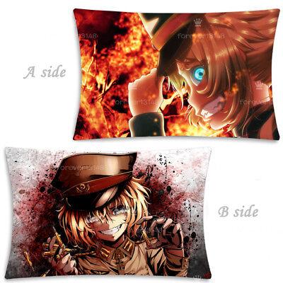 Anime Youjo Senki Tanya von Degurechaff two sided Pillow Case Cover 170