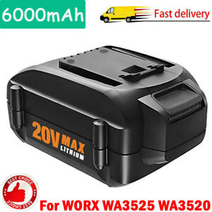 NEW-6-0AH-WA3520-for-Worx-WA3525-20V-6000mAh-Battery-WA3512-WA3712-WG155s-WG160