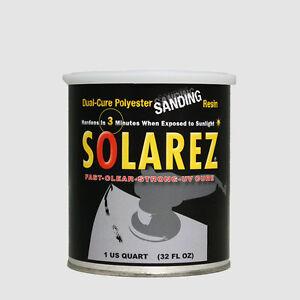 Details about Solarez Polyester Sanding Resin Quart