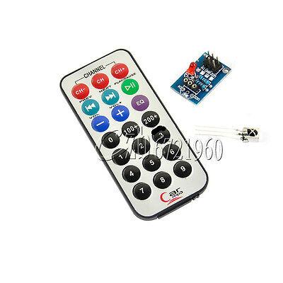HX1838 VS1838 Infrared IR Wireless Remote Control Sensor module Kit For arduino
