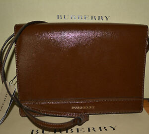 8668d50417cb Image is loading NWT-BURBERRY-995-MENS-PATENT-LEATHER-CROSSBODY-MESSENGER-