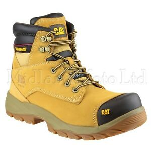 Cap Cat Caterpillar Toe Nubuck Safety S3 Boots Spiro Honey Steel xwqHPg1
