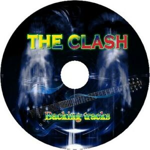 THE-CLASH-GUITAR-BACKING-TRACKS-CD-BEST-GREATEST-HITS-MUSIC-PLAY-ALONG-MP3-ROCK