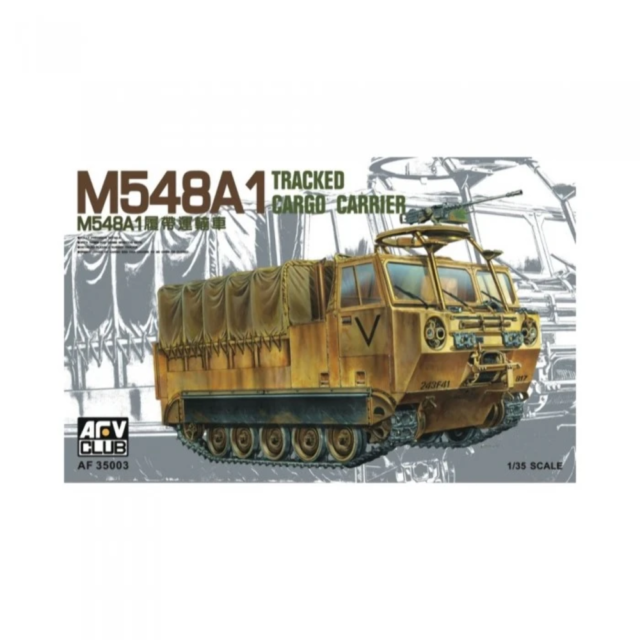 AFV 35003 1/35 M548A1 Tracked Cargo Carrier with Aus Decals Plastic Model Kit Br