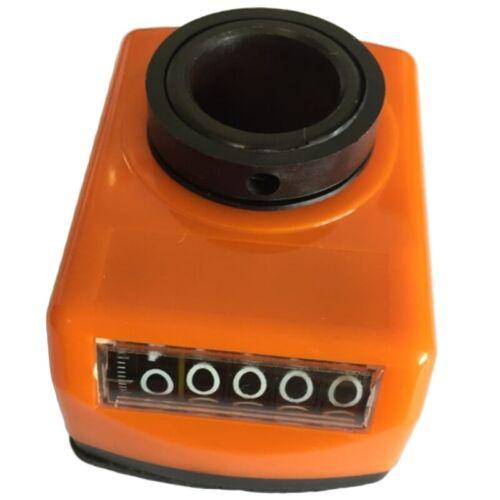 Maschinen Dreh Teil 20 Mm Bohrung Digitale Position Anzeige Orange V7T4 1X