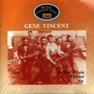 CD-Rock-n-Roll-50s-GENE-VINCENT-Music-Collection-EMI-Be-Bop-A-Lula-YNWA