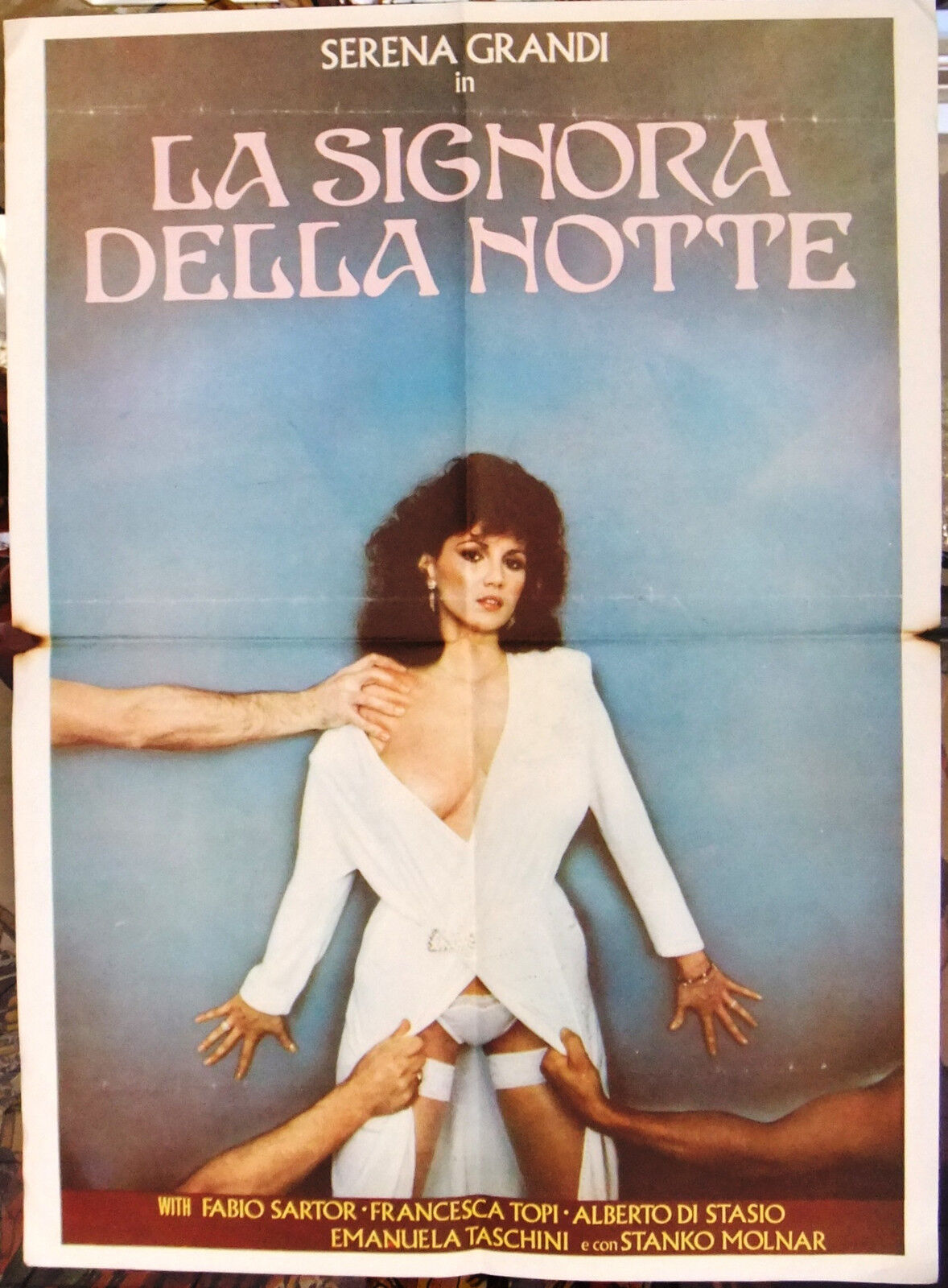 La Signora Della Notte Serena Grandi Italian Film Lebanese