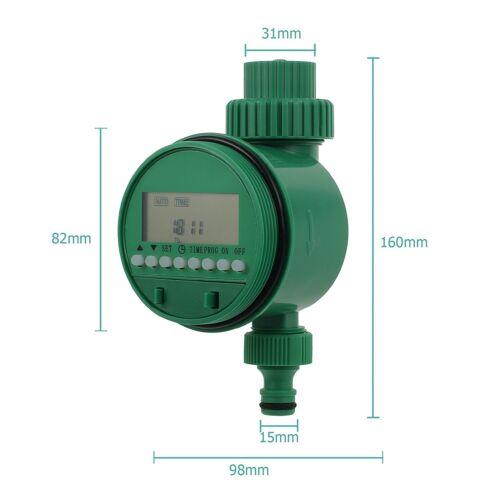 Digital Bewässerungssystem Wasser Zeitschaltuhr Automatisch Tröpfchenbewässerung