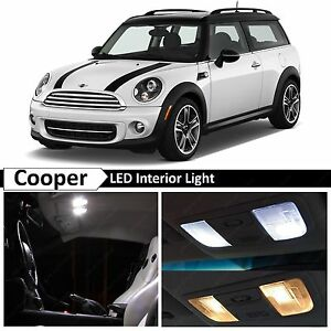Image Is Loading 10x White Led Lights Interior Package Kit For
