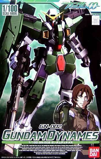Bandai 00 100-02 1 100 HG GN-002 Gundam Dynames