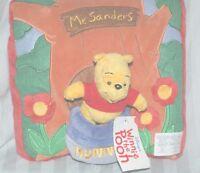 Disney Winnie The Pooh Hunny Pot Stuffed Toy Throw Pillow Mr.sanders
