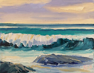 VIRIDIAN-SEAS-Original-Expression-Seascape-Surf-Art-Oil-Painting-8x10-031419-KEN