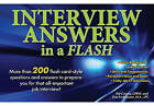 Interview Answers in a Flash by Dee Funkhouser, Pat Criscito (Paperback, 2011)